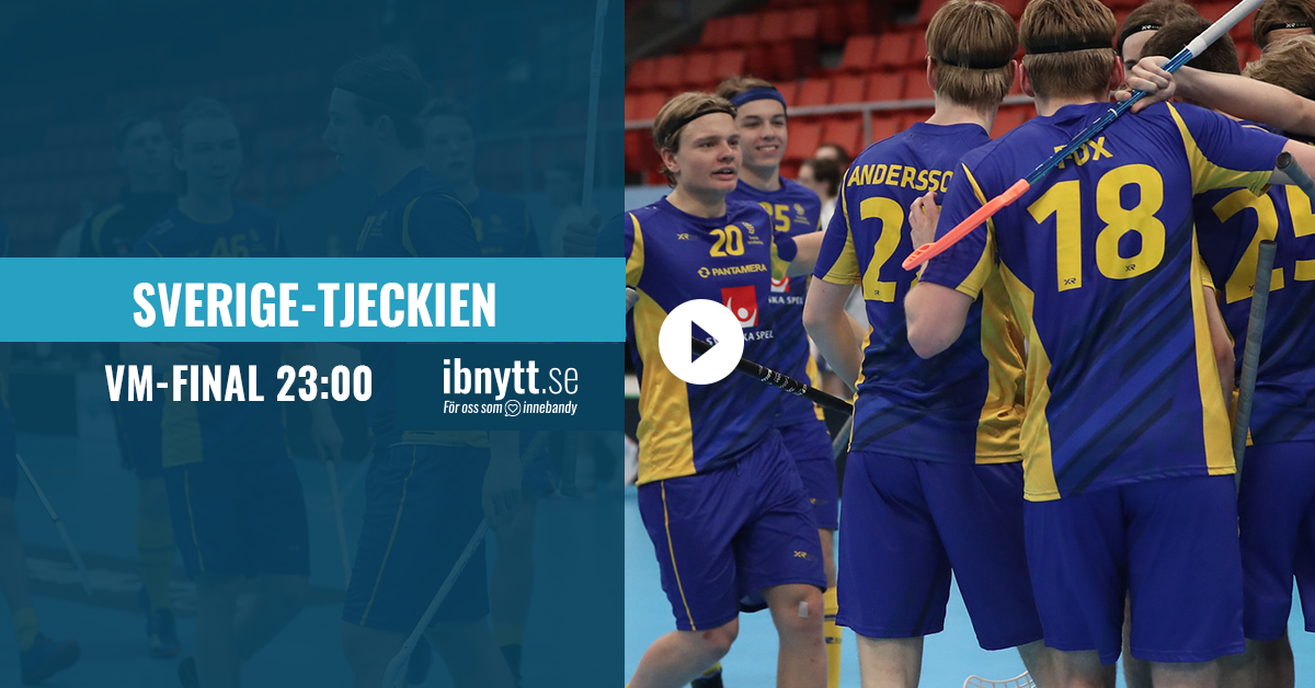 innebandy vm 2018 tv